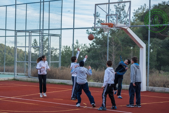 Platres Sports Center Basket ball Court