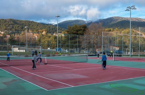 Platres Sports Center Tennis Courts